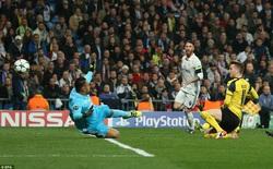"""""""Chết hụt"""" trước Dortmund, Real Madrid tự đẩy mình vào thế khó"""