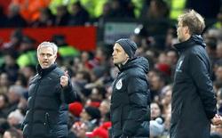 Chứng mỏi cổ của Mourinho và Klopp