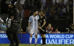 """Messi: """"Tôi đâu có chửi thẳng mặt trọng tài. Tôi chỉ hét vào không khí"""""""