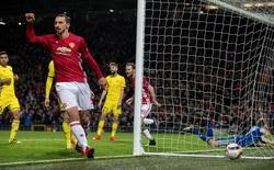 Ibra lập siêu phẩm kiến tạo, Man United nhọc nhằn hạ FC Rostov