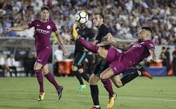 """Man City đè bẹp Real Madrid trong """"cơn mưa bàn thắng"""""""