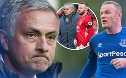 Là người cứng rắn nhưng Mourinho đã khóc ngày Rooney ra đi
