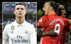 Chỉ cần 6 tháng, Ibrahimovic cân bằng thành tích 6 năm của Ronaldo