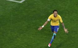 """Neymar solo đẳng cấp, Brazil """"đè bẹp"""" Paraguay"""