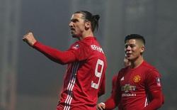 """Ibrahimovic sắm vai """"cứu thế"""", Man Utd thắng nhọc Blackburn Rovers"""