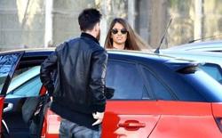 Messi dạo phố mua sắm cùng gia đình