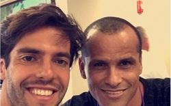 """Kaka và """"chuyện tình đặc biệt"""" với Rivaldo"""