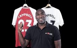 Cựu danh thủ Sol Campbell chính thức sang Việt Nam