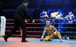 """""""Đệ nhất Thiếu Lâm"""" Yi Long tái đấu võ sĩ Thái Lan, quyết """"rửa mặt"""" cho võ Trung Quốc"""