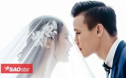 """Bộ ảnh cưới tuyệt đẹp của """"soái ca"""" Quế Ngọc Hải và vợ sắp cưới xinh đẹp"""