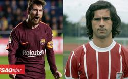 Messi san bằng kỷ lục ghi bàn của huyền thoại bóng đá Đức