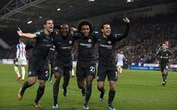 """Thắng dễ """"khắc tinh"""" của Quỷ đỏ, Chelsea bám sát Man United không rời"""