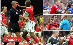 """Những lần """"tẩn nhau"""" trong đường hầm của Man Utd với các kình địch"""