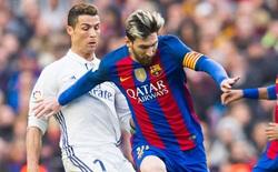 """Messi phản ứng khó tin trong ngày Ronaldo cùng Real Madrid """"xưng vương"""""""