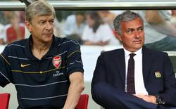 """Ghét nhau cùng cực, nhưng Mourinho vừa cùng Wenger tạo nên """"kỷ lục"""" vô tiền khoáng hậu"""