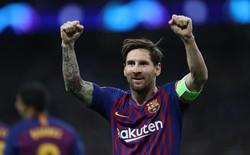 2 lần sút trúng cột dọc, Messi vẫn giúp Barca đánh bại Tottenham trong mưa bàn thắng