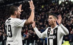 """Ronaldo tung cú một chạm """"thần sầu"""", Juventus khiến cả Serie A ngán ngẩm"""