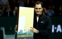 Kỷ lục mới của Federer: tay vợt lớn tuổi nhất đứng đầu thế giới