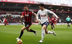 """""""Trai đẹp"""" Hàn Quốc lập cú đúp, Tottenham soán ngôi Liverpool"""