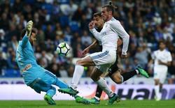 """""""Tranh thủ"""" Ronaldo vắng mặt, Bale đóng vai người hùng giúp Real Madrid thắng 6-0"""