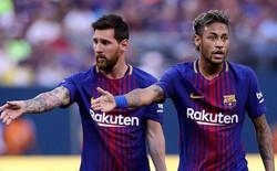 """Messi: """"Neymar gia nhập Real Madrid sẽ là cái tát vào mặt những cầu thủ Barca"""""""
