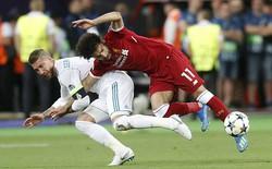 """""""Lãnh đòn"""" của Ramos, Salah có mất luôn World Cup 2018?"""
