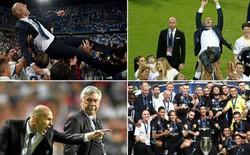 HLV Zidane và những khoảnh khắc tột đỉnh vinh quang cùng Real Madrid