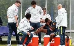 Bom tấn M.U dính chấn thương khi 'luyện công' cùng Brazil