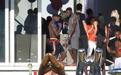 Paul Pogba mở tiệc linh đình ngay trước khi Man United thảm bại vì thiếu quân