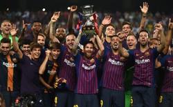 Vừa nhận băng đội trưởng, Messi đã cùng Barcelona lên ngôi vô địch đầy kịch tính