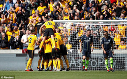 KẾT THÚC Wolverhampton 1-1 Man City: The Citizens chịu quy luật nghiệt ngã của bóng đá