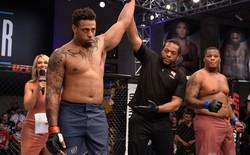 Cựu sao bóng bầu dục Mỹ hủy diệt võ sĩ MMA bất bại sau 17 giây