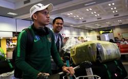 """Vừa xuống sân bay Nội Bài, sao Indonesia """"tuyên chiến"""" tuyển Việt Nam"""