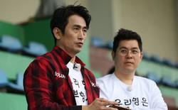 """Diễn viên phim """"Ông trùm"""" Cha In Pyo bất ngờ đến thăm HLV Park Hang-seo"""