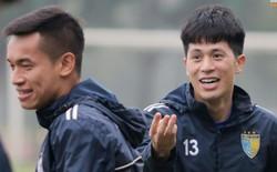 Cặp trung vệ Duy Mạnh - Đình Trọng tái xuất ở trận đấu cực căng với CLB Hải Phòng