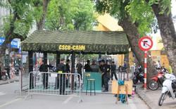 Ban tổ chức đặt 4 chốt an ninh, pháo sáng hết đường vào sân Hàng Đẫy