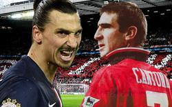 Với Ibrahimovic, Man United sẽ thấy lại hình ảnh Eric Cantona