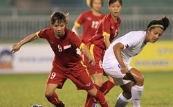 """Nữ Việt Nam bùng nổ, """"hạ đẹp"""" Singapore... 14-0"""
