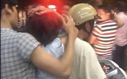 Tạm đình chỉ công tác thiếu úy kéo tóc người phụ nữ ở Sài Gòn