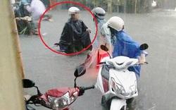 """Sự thật câu chuyện """"mẹ gào khóc tìm con gái bị nước cuốn"""" ở Sài Gòn"""