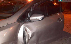 Bị đo nồng độ cồn, tài xế lùi xe làm 1 Đại uý cảnh sát nhập viện