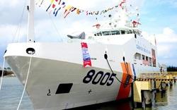 Bàn giao tàu CSB 8005 hiện đại hàng đầu Việt Nam