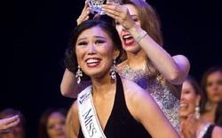 Không thể tin nổi là với nhan sắc này cô gái Trung Quốc có thể đăng quang Hoa hậu ở Mỹ