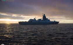 VIDEO: Chiến hạm hiện đại nhất của Nga thử nghiệm trên biển