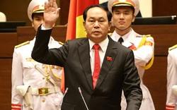 Với 485/487 phiếu bầu, ông Trần Đại Quang tái đắc cử chức danh Chủ tịch nước