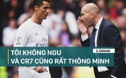 """Ronaldo chửi trên khán đài & cách đáp kiểu """"không ngu"""" của Zidane"""