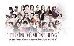 [Trực tiếp] 25 nghệ sĩ góp mặt trong đêm diễn mở màn Hướng về miền Trung tại Hà Nội