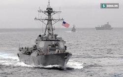 Chính quyền Trump lần đầu điều tàu chiến vào vùng 12 hải lý đảo nhân tạo TQ xây trái phép