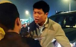 Tài xế Thanh tra Bộ bị khởi tố vì bực mình tát cảnh sát cơ động