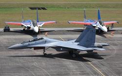 Su-30SM hoàn thành xuất sắc nhiệm vụ - Trở lại Việt Nam